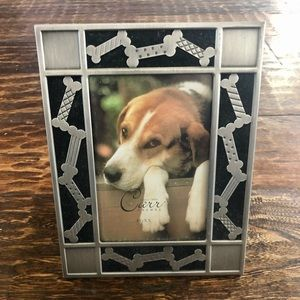 Carr Dog Bone Picture Frame - Size 3.5x5 (NWOT)